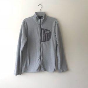 Northface men's classic zipper fleece jacket